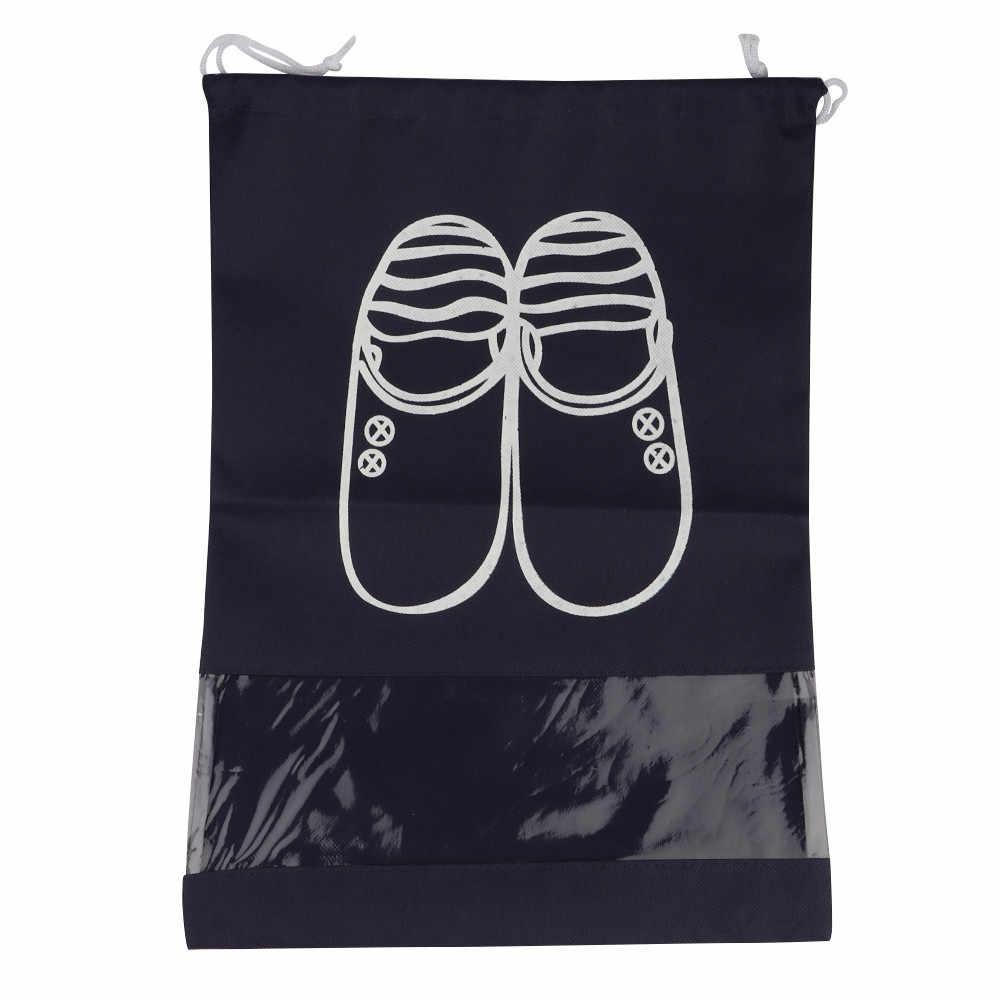 Maison Fabre Tas Perjalanan Portabel Tas Terlihat Beam Mulut Tas Sepatu Perjalanan Tahan Air Kotak Sepatu Sepatu Tas Penyimpanan Tas Travel