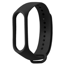 TPE Solid Color Wristband Wrist Strap Bracelet With Secure Faster Smart Accessories for Xiaomi Mi Band 3 Replacement