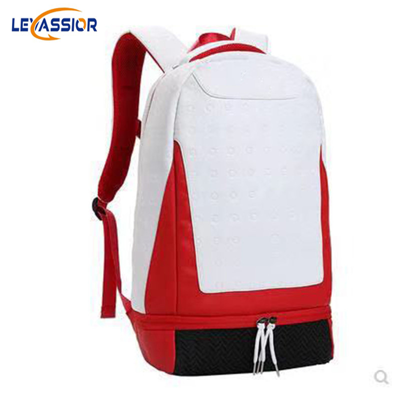 New PU Leather Outdoor Sport Bag For Men Women Travel Large Capacity Tourist Backpack For School Teenager Fashion Gym Bag Finess