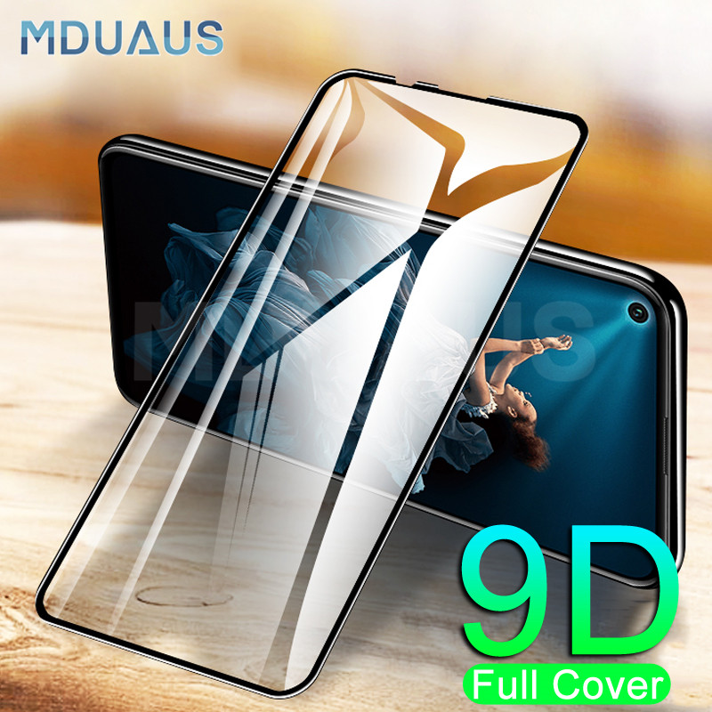 9D Tempered Glass On The For Huawei Honor 20 10 9 8 Lite V30 V20 V10 9X 8X Screen Protector Safety Protective Glass Film Case