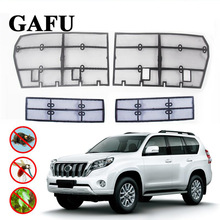 Car Styling For Toyota Land Cruiser Prado 2018 2019 FJ 150 Grille Insect Screening Mesh Front Grille Net Accessories