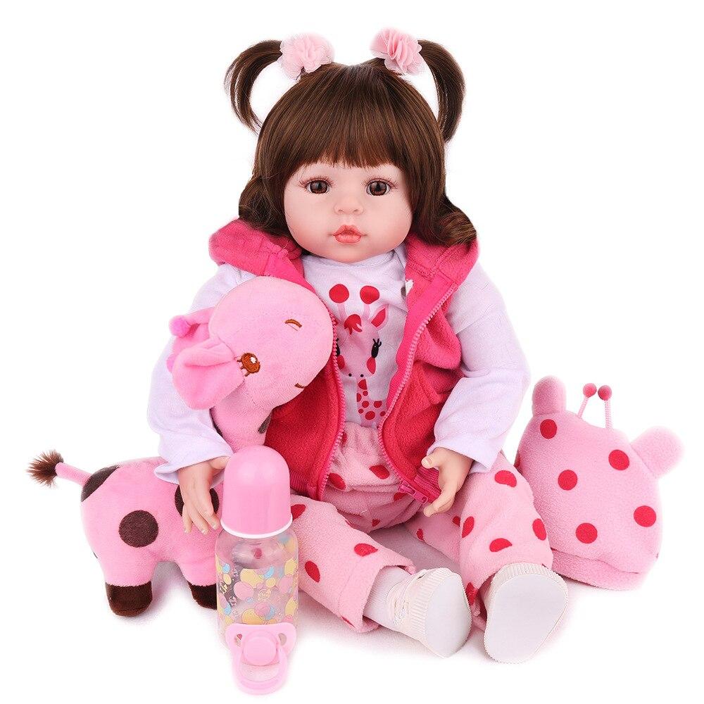 Muñeca de juguete de cuerpo de silicona Blaze Reborn para niña, recién nacida, Princesa, bebé, juguete de regalo de cumpleaños para bebé