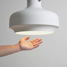 Modern LED Pendant Lights Nordic Iron Pendant Lamp Kitchen Cafe Decorative Lights Living Room Dining Room Lighting Hanging Lamp недорого