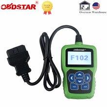 Obdstar F102 Startonderbreker Pin Code Reader Voor Nissan/Infiniti Auto Key Programma Kilometerstand Correctie Tool Zonder Token Beperking