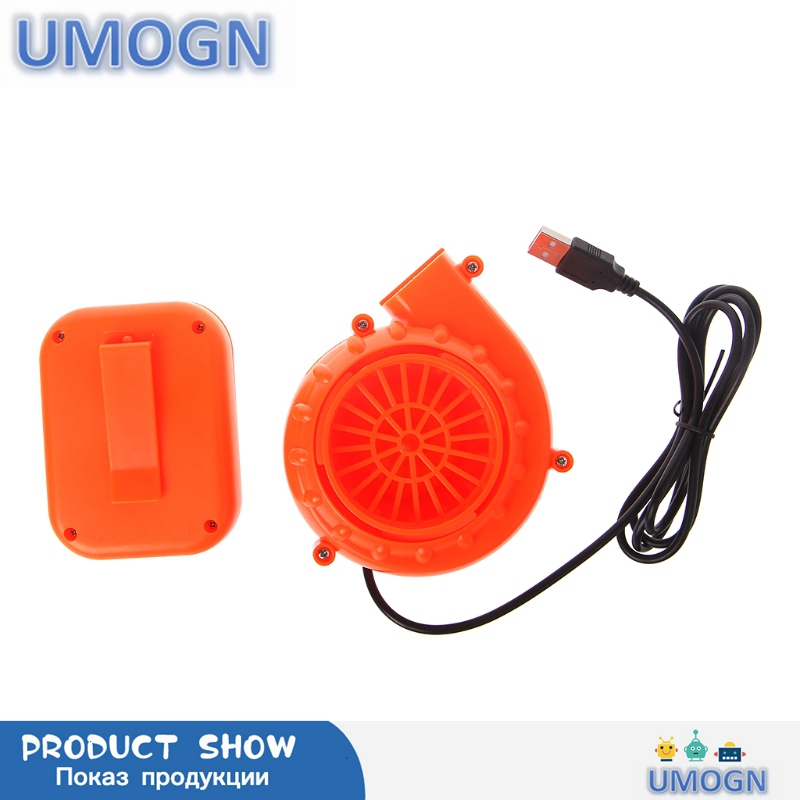 New Electric Mini Fan Air Blower For Inflatable Toy Costume Doll Battery Powered USB