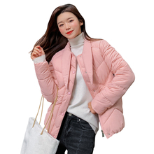 KUYOMENS Stand Collar Buttons Female Coat Winter Womens Outwear Jackets Autumn Cotton Padded Chaqueta Mujer Invierno
