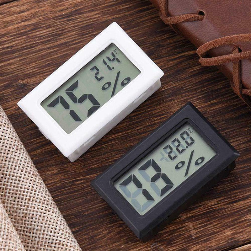 Mini Hygrometer Thermometer Electronic Accurate Digital Indoor Temperature Humidity Meter Monitor with Probe 1.5m Cable SCVD889