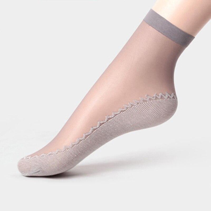 Ani-19 Summer Fashion Womens Socks Cotton Soft 4 Colors
