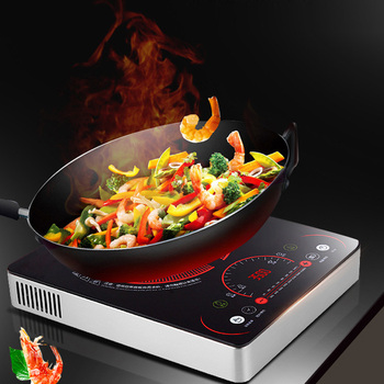 Commercial Induction Cooker Electric Magnetic Cooker Household Touch Control Electric Cooking Stove 3500W  HC-2139-35 counter top commercial electric noodle cooker chinese noodle cooker counter top electric pasta cooker