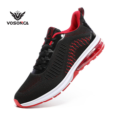 Vosonca New Mesh Men Casual Shoes Lac-up Lightweight Comfortable Breathable Walking Sneakers Tennis shoes