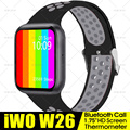 Смарт-часы iwo W26 W26M Series 6, 1,75 дюйма, Bluetooth, пульсометр, ЭКГ, термометр