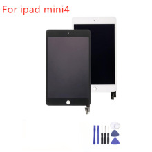 1Pcs (Checked) For iPad mini 4  A1538 A1550 LCD Display Touch Screen Digitizer Panel Assembly Replacement Part +3Free Gifts new brand tested for ipad mini 4 lcd a1538 a1550 display screen with touch screen digitizer assembly 1pcs 7 9 inch replacement