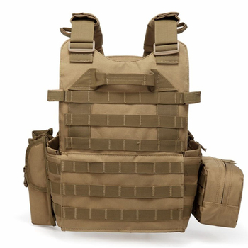 Tactical Vest Military Combat Body Armor Mens Army Hunting Vest Plate Carrier Airsoft 094K Pouch Combat Gear Outdoor CS Training 5
