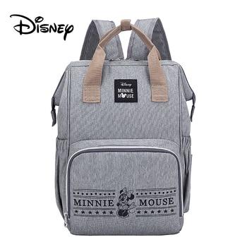 Disney Pre-design Cartoon Baby Diaper Bag Waterproof Baby Bag Organizer Nappy Maternity Bag For Stroller Mom Travel Free Hooks - 8
