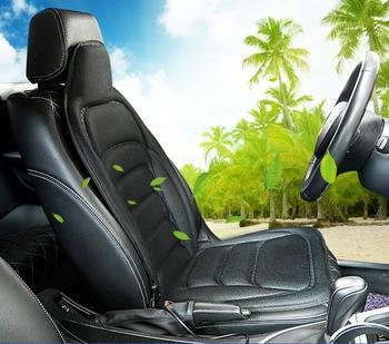 12V Vehicle Massager Multi-function Full-body Household Cushion Chair Pad Neck Waist Shoulder Heating Vehicle Massage Cushion
