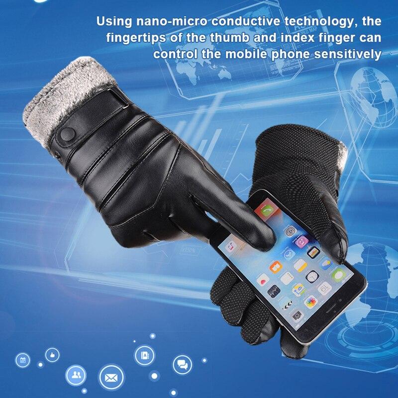 Luvas p tablets com tela de toque