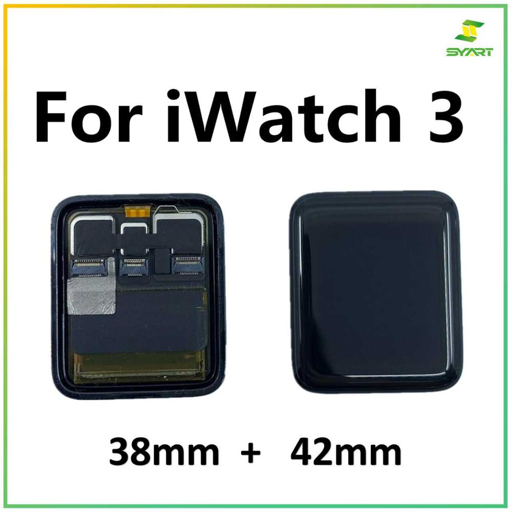 For <font><b>Apple</b></font> <font><b>Watch</b></font> <font><b>3</b></font> <font><b>Series</b></font> <font><b>3</b></font> LCD Sinbeda Original <font><b>GPS</b></font>+Cellular Display Digitizer Assembly For iwatch <font><b>3</b></font> Series3 S3 38mm 42mm LCD image