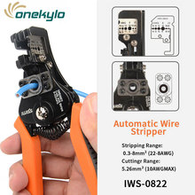IWS-0822 Multifunction Wire stripper manual stripping pliers multi-function electrician wire cutters IWISS tool plier