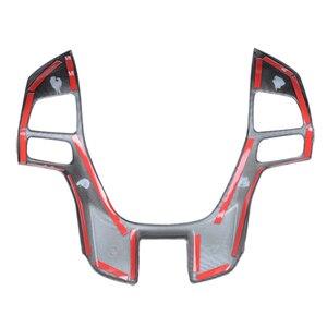 Image 5 - Marco de volante de fibra de carbono para coche, tapa de decorador para Ford Ranger Everest Endeavour 2015 2016 2017 2018 2019 2020 2021