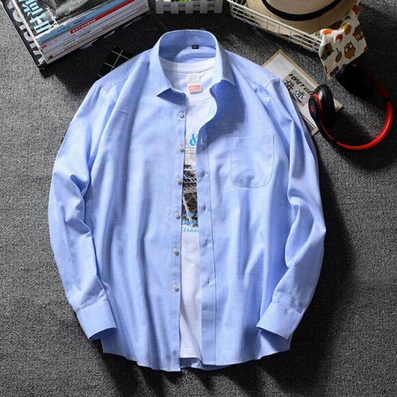 Hommes à manches longues pur coton lin décontracté simple boutonnage chemises Camisa, respirant Comfortale solide couleur bonbon de haute qualité
