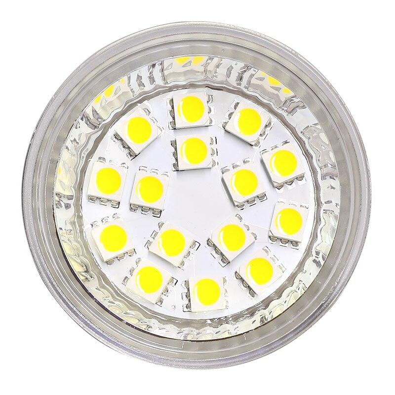 Dimmable MR16 5050 SMD 3.5W Spot Light Bulb 12V 24V G4 Base Bi-Pin LED Flood Light Bulb 35W Equivalent 2pcs/lot
