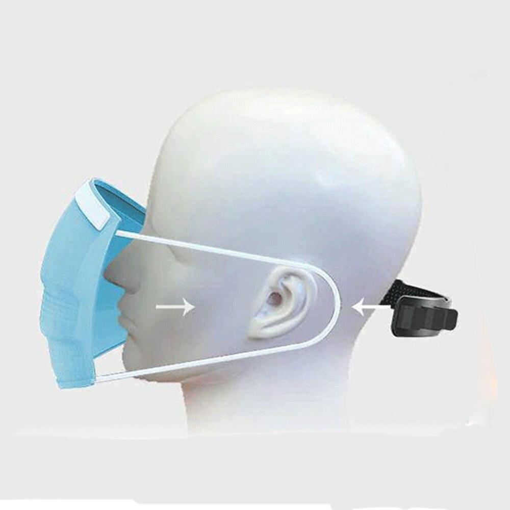 10Pcs Soft Face Mask Ear Hooks Buckle Kids Adjustable Earache Ear Pain Prevention Health Care Suppies Mask Extension Belt D30