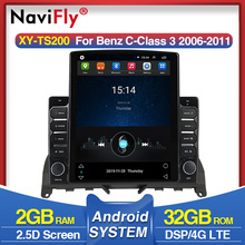 Android 9.7inch Android Car Radio Audio Multimedia Player GPS Navigation for Mercedes Benz C Class 3 W204 S204 2006-2011 2Din