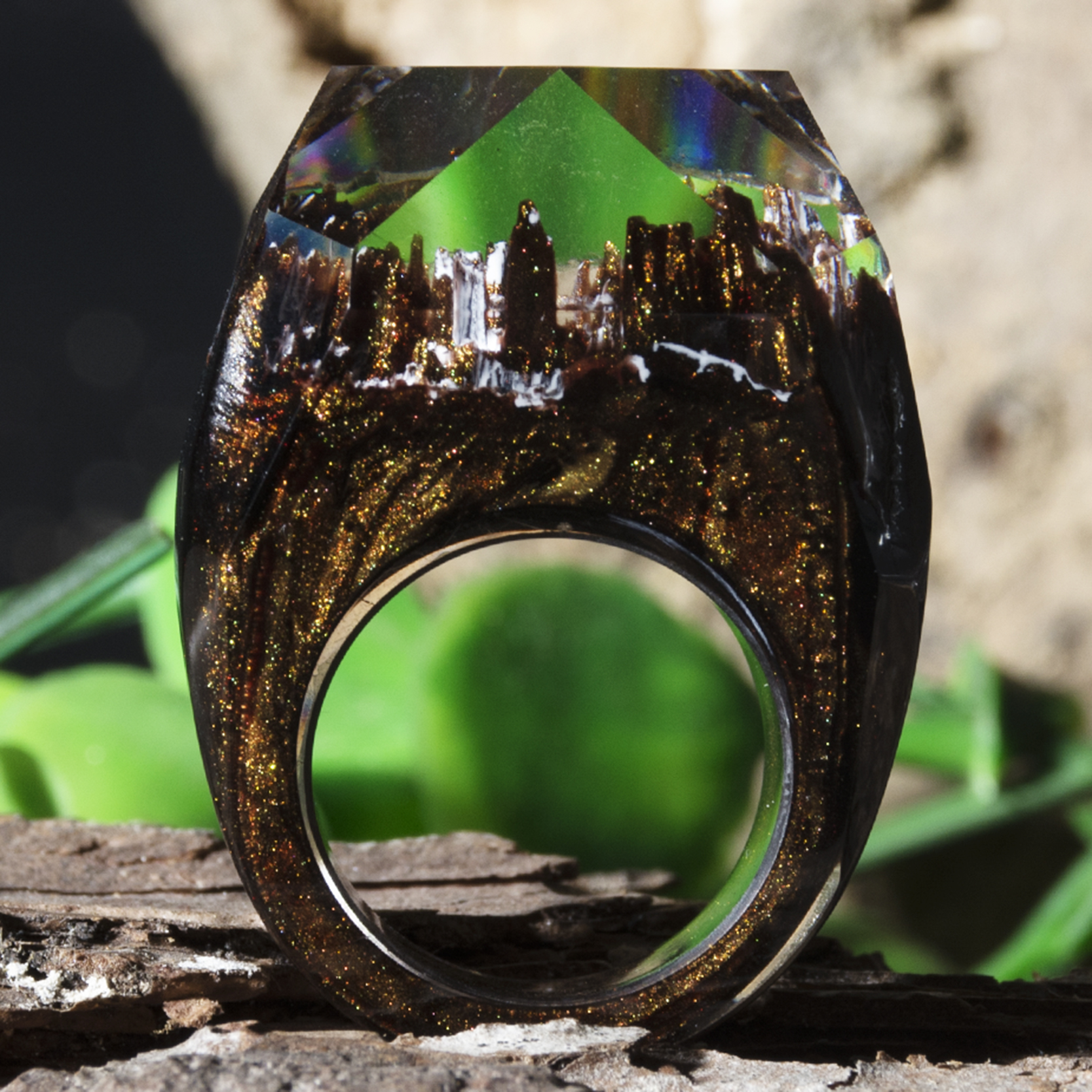 H85525986ec8645e886f9c56f7a68e2f3B - Forest Ring