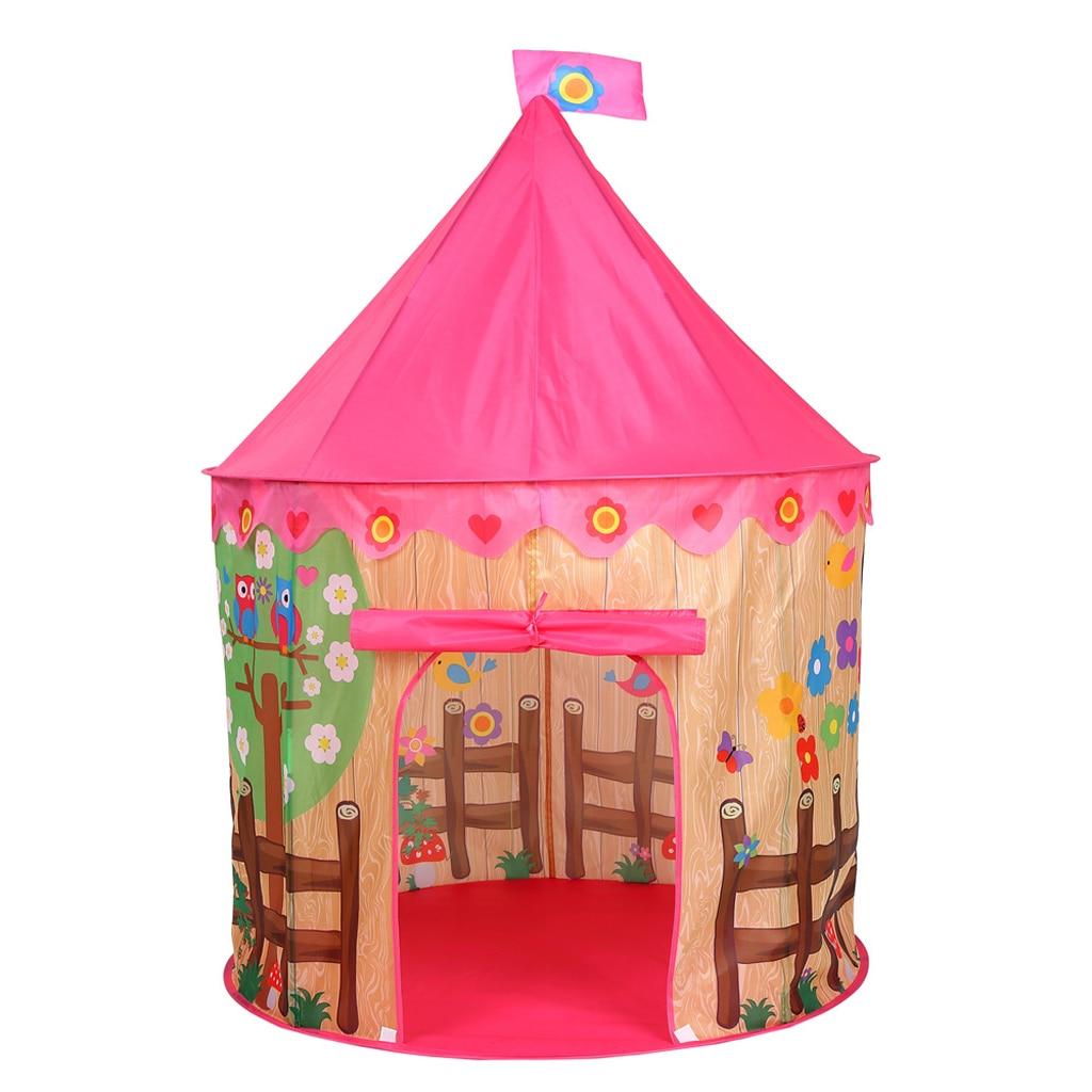 Children Kids Folding Pop Up Play Tent Game Playhut Playhouse Indoor Outdoor