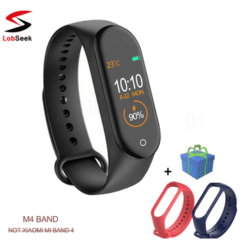 M4 Smart Wristband Fitness tracker Bracelet Waterproof bluetooth smartwatch LED Message Heart Rate monitor smart bracelet