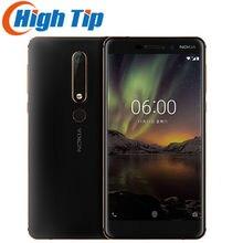 Telefono cellulare originale Nokia 6 2a seconda generazione Dual Sim 4GB 32GB/64GB Snapdragon 630 Octa core Android 7 16.0MP 5.5''
