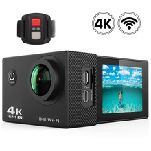 "Go pro Camera Action Camera 2.4 Remote Ultra HD 4K Camera WiFi 2.0"" Sport Action Video Camera 170D Underwater Waterproof Camera(China)"