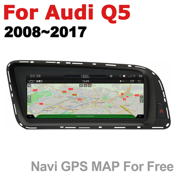 Android 7.0 up Car Multimedia player For Audi Q5 8R 2008~2017 MMI WiFi GPS Navi Map Stereo Bluetooth 1080p IPS Screen
