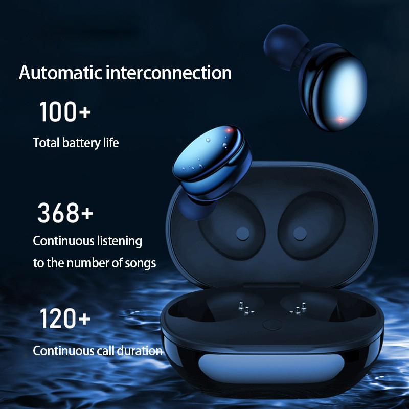 Wireless Earbuds Bluetooth Earphones <font><b>TWS</b></font> IPX7 Waterproof Small Easy To Wear Noise Denoise BT 5.0 Sport Earphone For Galaxy image