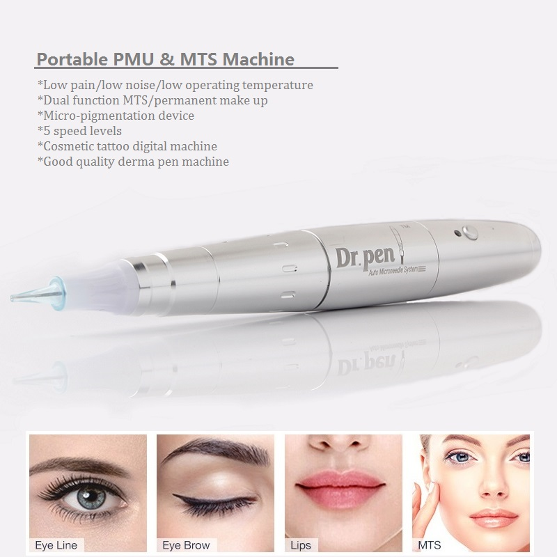 Artmex Tattoo Gun Permanente Cosmetische Make up Machine Microblading Naalden Derma Pen A3 Voor Body Art Wenkbrauw Eyeline Lip Liner-in Tatoeagepistolen van Schoonheid op  Groep 1