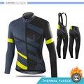 SPECIALIZEDING зимняя велосипедная одежда с длинным рукавом Джерси наборы термальный флис гоночный велосипед одежда Униформа Ropa Ciclismo Hombre