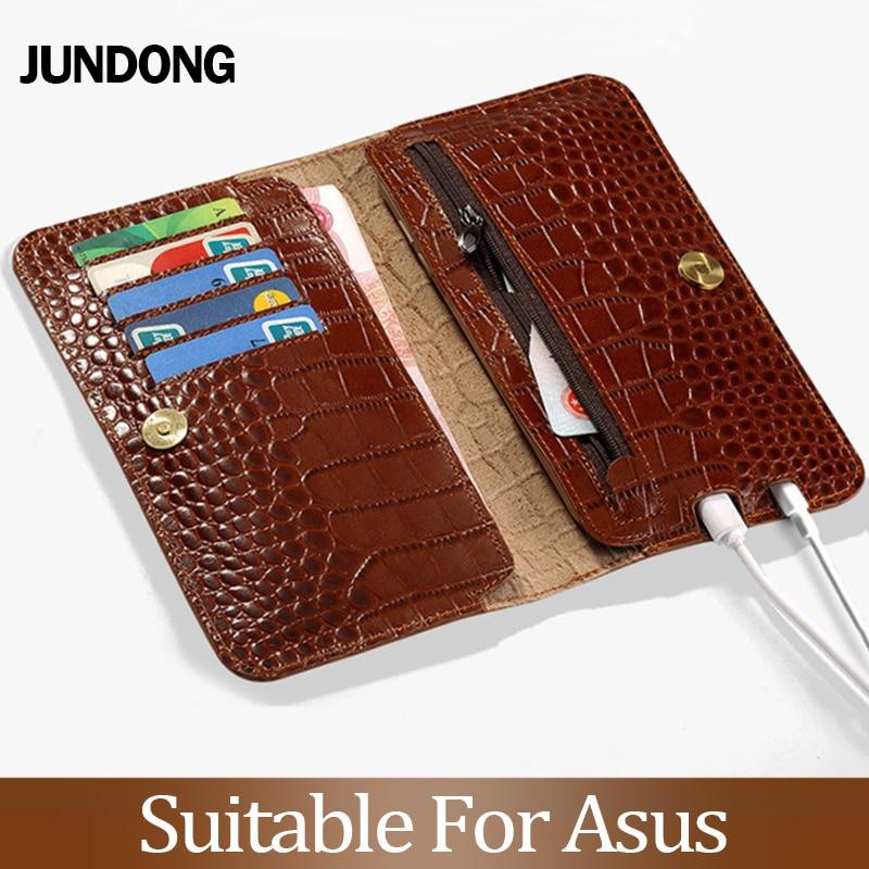 Pour Asus Zenfone 3 4 5 5Z 5 Lite Max M2 ZB633KL ZB634KL étui Texture Crocodile housse peau de vache téléphone sac portefeuille
