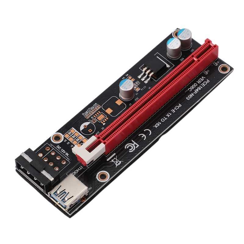 Mini PCIe PCI Express 16X yükseltici dizüstü harici görüntü kartı EXP GDC BTC Antminer madenci MPCIe PCI-E yuvası madencilik kartı