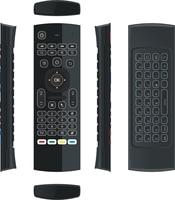 ir למידה RF מקלדת עם תאורה אחורית מרחוק האוויר עכבר MX3 עם מיקרופון IR למידה עבור אנדרואיד טלוויזיה תיבת נצחונות PC IPTV (5)
