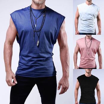 Męska T-shirt do biegania szybkoschnący kompresji koszulka sportowa fitness siłownia koszulka do biegania koszulka piłkarska koszulka męska odzież sportowa tanie i dobre opinie Wiosna Lato AUTUMN Poliester Pasuje prawda na wymiar weź swój normalny rozmiar