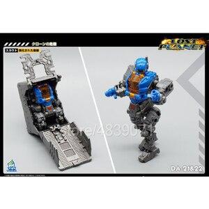 Image 3 - MFT экшн фигурка игрушки DA 21 и DA 22 DA21 и DA22 маленькая пропорция силовая броня силовой костюм потеря планеты трансформация деформации
