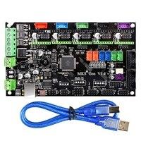 Makerbase 3D 프린터 MKS Gen V1.4 제어 보드 지원 TMC2130 V1.1 SPI TMC2208 A4988 DRV8825 RepRap Ramps 1.4 Mega 용 드라이버