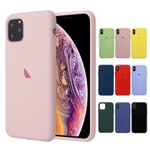 Original official Liquid Silicone Case For iphone