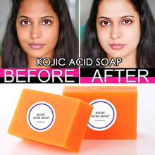 100g Kojic Acid Soap Handmade Soaps Glutathione Whitening Soap Facial soap  cleanser bath soap hand wash soap antibacterial