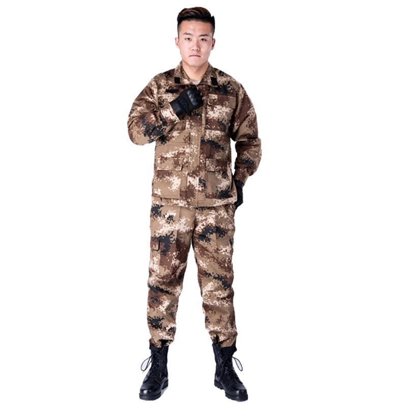 Military Training Camouflage Suit Male STUDENT'S Training Clothes Universal Work Clothes Special Forces Field Operations Wear-Re