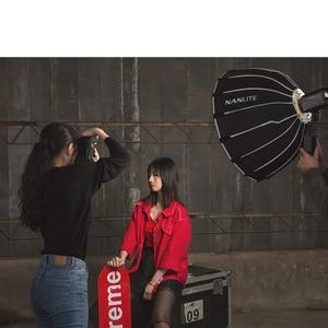 Image 3 - Nanguang SB FZ60 60 سنتيمتر سوفت بوكس ل Nanguang Forza 60 مظلة بمصابيح إضاءة التصوير ضوء لينة صندوق بوين جبل مستديرة