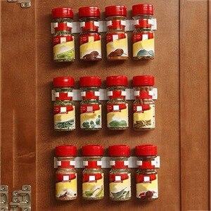 Clip Kitchen Spice Organizer Lightweight Storage Rack Shelf Kitchen Spice Seasoning Carrier Bottle Holder