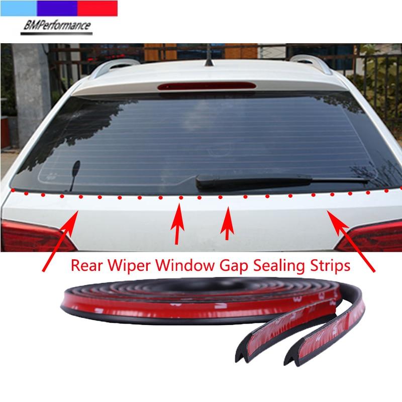 Автомобильные уплотнительные ленты для зазора заднего стекла стеклоочистителя, наклейки для Bmw X5 E70 X6 E71 E72 G20 G30 G31 G38 G15 G32 G11 G12 G01 G02 G05 G06