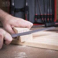 16pcs 8 inch Wood Rasp Metal File And Mini Needle File Set Woodworking Flat Triangle Round Half round Shape Steel Files