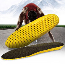Man Women Unisex Sports Running honeycomb Shoes Pad For Feet Insoles Sole Memory Foam Stretch Breathable Deodorant